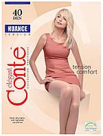 Колготки Conte Nuance 40 Den Beige размер 4, фото 1