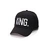 Кепка бейсболка King & Queen (Король и Королева) King 2, Унисекс