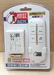 Дистанционный выключатель одноканальный HOROZ CONTROLLER-1 TX-01 белый