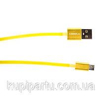 Кабель Logan USB 2.0 A - Micro USB 2.0 B, 1м (EL117)