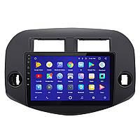 """Штатная автомагнитола 10"""" Toyota RAV4 сенсорный экран FM-радио GPS Wi-Fi мощность 4x45 Вт Android 8.1 Go"""