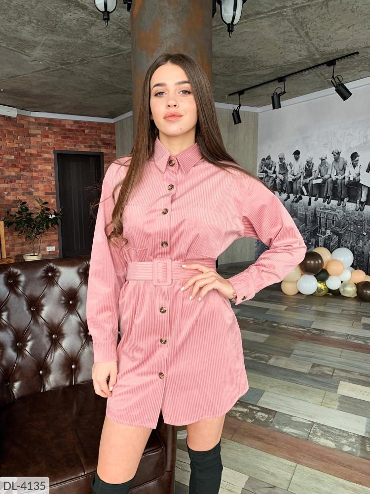 Платье рубашка женское вельвет стильное размеры  42 44 46 новинка 2020 есть цвета