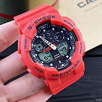 Наручные часы с пластиковым корпусом Casio GA-110 красные