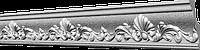 Потолочный плинтус GP-33 из полистирола. Декоративный багет 80х41мм. Потолочный карниз молдинг.