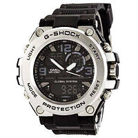 Наручные часы в стальном корпусе Casio G-Shock GLG-1000 Black-Silver