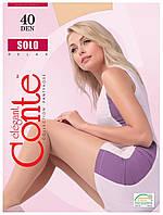 Колготки Conte Solo 40 Den Бежевий (Beige) розмір 3, фото 1