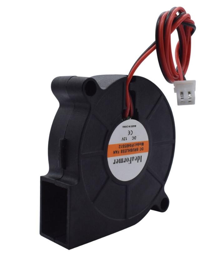 Кулер улитка 5015 12В турбина, кулер 3D-принтера
