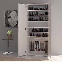 Шкаф с полками для одежды и обуви