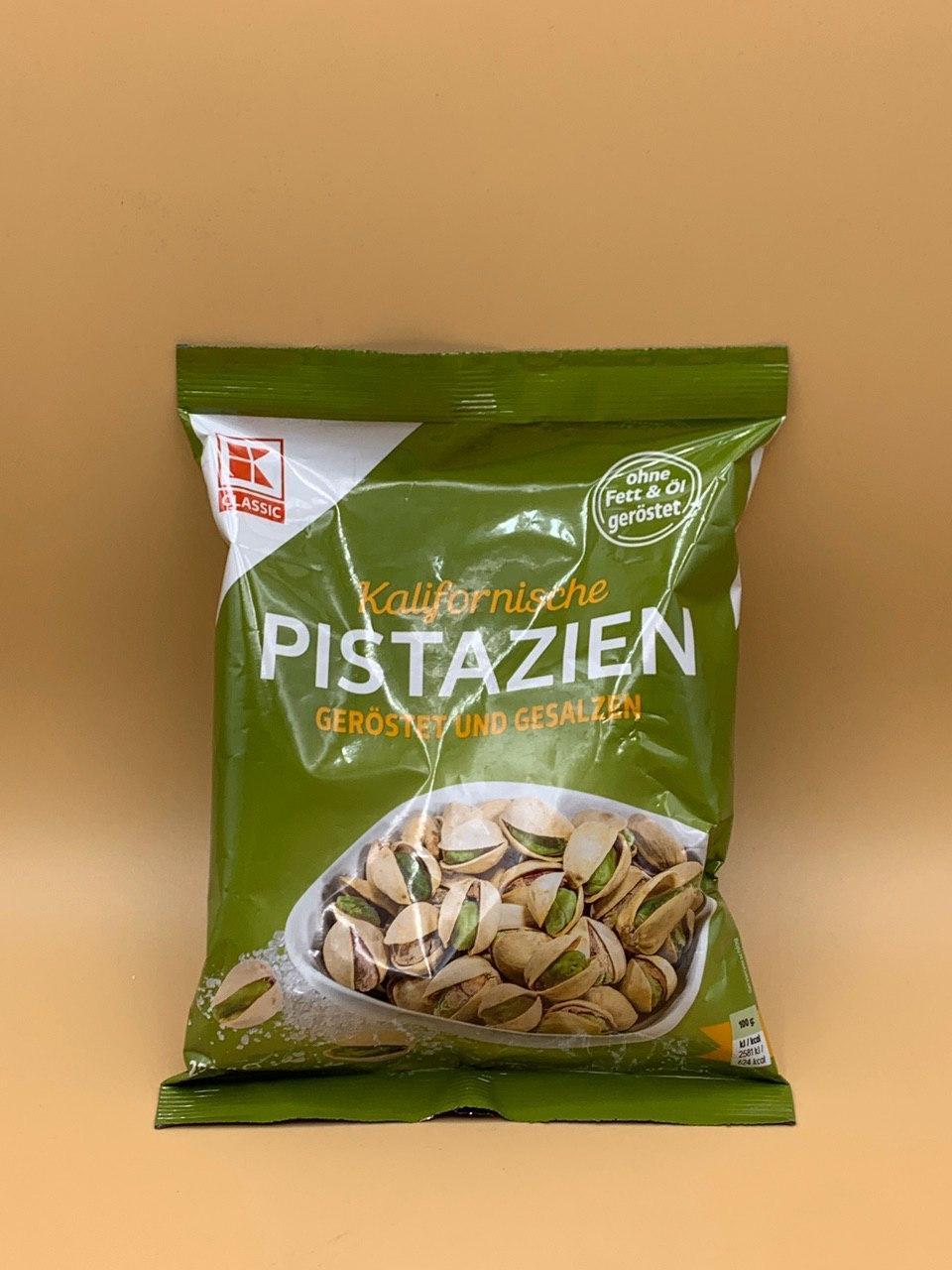 Фисташки Classic 0.25kg Pistazien Классик 0.25кг
