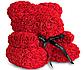 Мишка из искусственных роз 25 см (6 цветов), фото 2