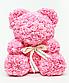 Мишка из искусственных роз 25 см (6 цветов), фото 4
