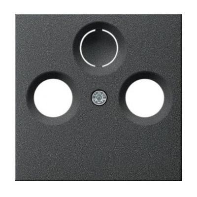 Накладка для розеток TV-R (SAT) Gira System 55 антрацит