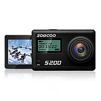 "Экстремальная экшн-камера SOOCOO S200 Black 2.45"" спортивная Wi-Fi Ultra HD 4K microSD Батарея 1250 мАч, фото 3"