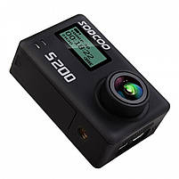 "Экстремальная экшн-камера SOOCOO S200 Black 2.45"" спортивная Wi-Fi Ultra HD 4K microSD Батарея 1250 мАч, фото 4"