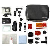 "Экстремальная экшн-камера SOOCOO S200 Black 2.45"" спортивная Wi-Fi Ultra HD 4K microSD Батарея 1250 мАч, фото 6"