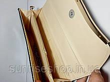 Клатч лаковий колір малиновий, фото 3