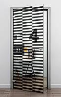 """Двери с фотопечатью """"Полоски"""""""