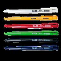 Ручка кулькова автоматична BASE, 0,7 мм, JOBMAX, синя
