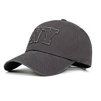 Кепка бейсболка NY 3, Сіра 2 Унісекс, фото 1