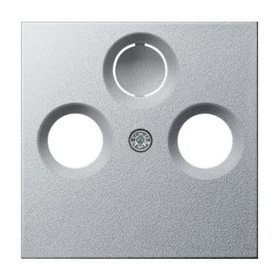 Накладка для розеток TV-R (SAT) Gira System 55 алюминий