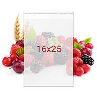 Пакет с клейкой лентой для конфет - 16x25 см, 100 шт