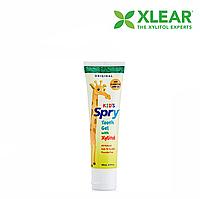 Зубной гель Xlear, Kids Spry, оригинальный вкус, (0-3 лет),60 мл
