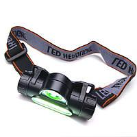Аккумуляторный налобный фонарь 8101