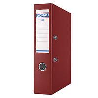 Папка регистратор 7 см Donau PREMIUM A4 бордовая (3975001PL-05)