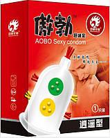 Презервативы с усиками и шипами для дополнительной стимуляции влагалища AOBO Sexy condom (Код 302/1) 13859