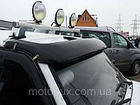 Солнцезащитный козырек лобового стекла для ВАЗ 2121, 21213, 21214 Нива, спойлер
