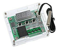 Контроллер температуры, терморегулятор W1209  в корпусе