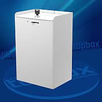 Белая коробка для пожертвований 200x300x150 мм, объем 9 л.
