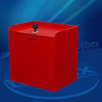 Коробка для сбора пожертвований 200x200x150 мм, объем 6 л.