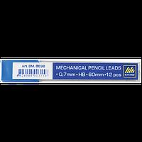 Стрижні для мех.олівців (12шт) HB 0.7мм