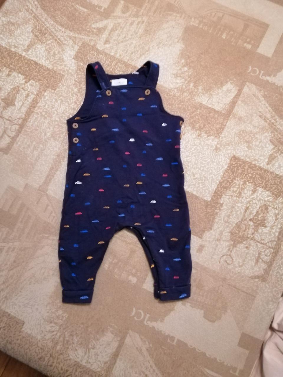 Трикотажный полукомбинезон NEXT для новорожденного мальчика