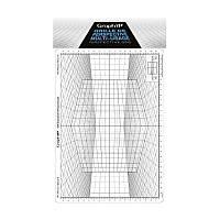 Сетка перспектива D для зарисовок, 26x30,5см, Graph'it
