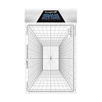 Сетка перспектива C для зарисовок, 26x30,5см, Graph'it