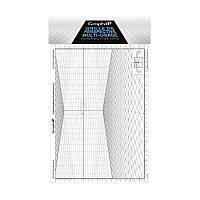 Сетка перспектива A для зарисовок, 26x30,5см, Graph'it