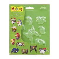 Молд ''Маски'', 17,5x14см, Makin's