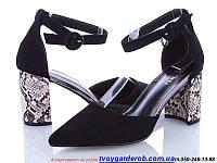 Стильные туфли женские Mei De Li  каблук 8см (р.36-40)