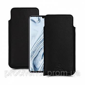 Футляр Stenk Elegance для Xiaomi Mi Note 10 Чёрный