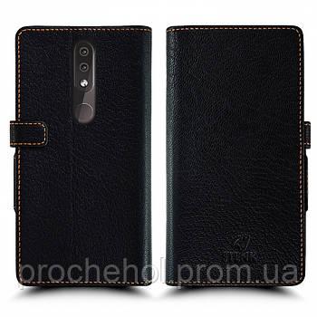 Чехол книжка Stenk Wallet для Nokia 4.2 Чёрный