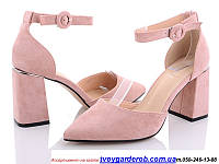 Стильные туфли женские Mei De Li каблук 8см  (р.36-40) 38