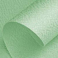 Рулонные шторы открытого типа ткань перламутровая цвет Green, фото 1