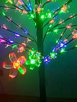Светодиодная гирлянда дерево Сакура  215 led 12v  150cm Мультицвет