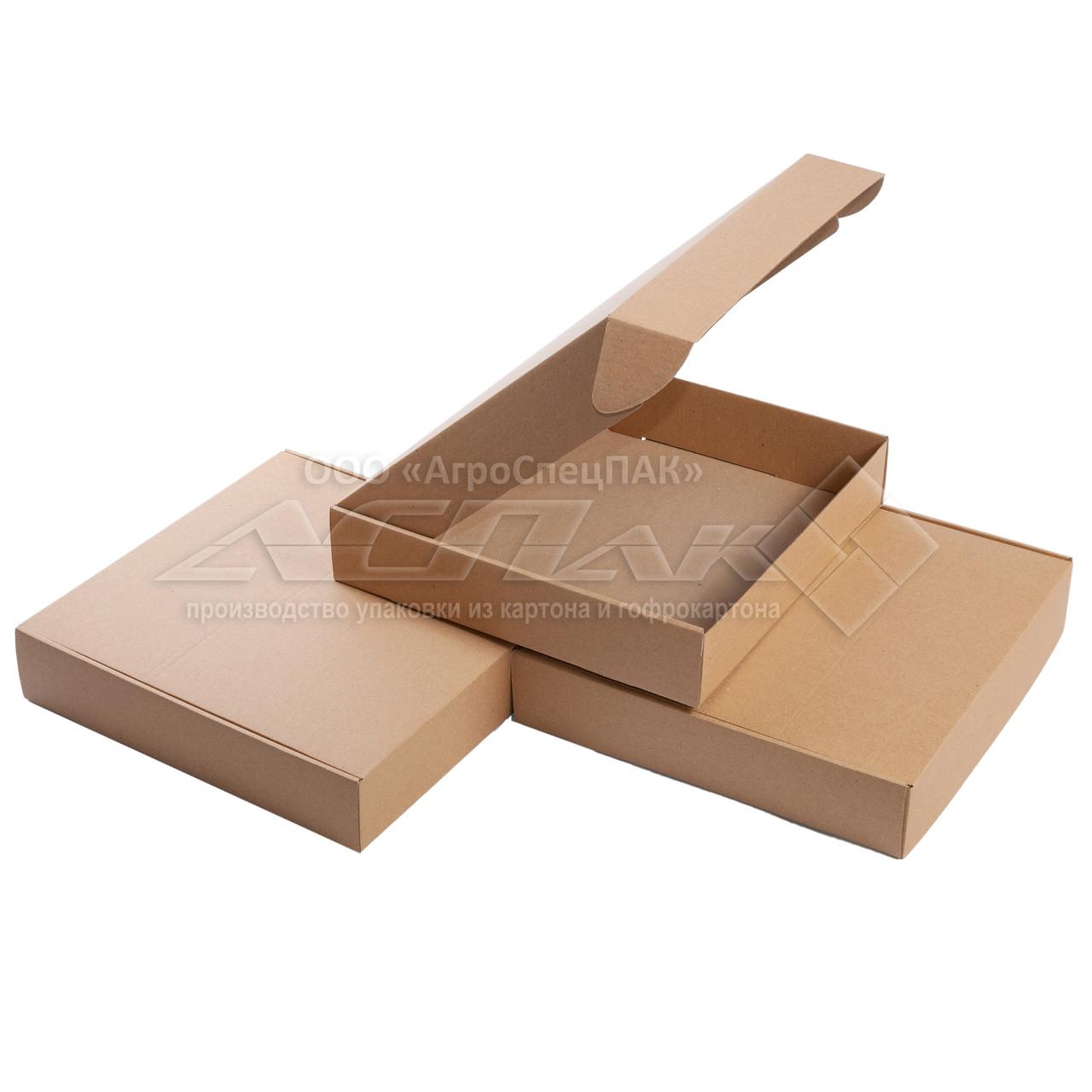 Картонные коробки 300*300*60 бурые