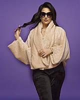 Женская шуба без застежки большого размера.Размеры:48-50.+Цвета, фото 1