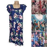 Женские ночные сорочки  с цветочным принтом