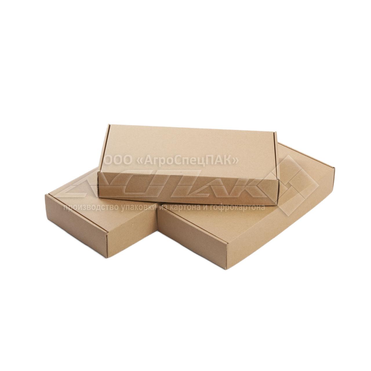 Картонные коробки 303*153*53 бурые - фото 2