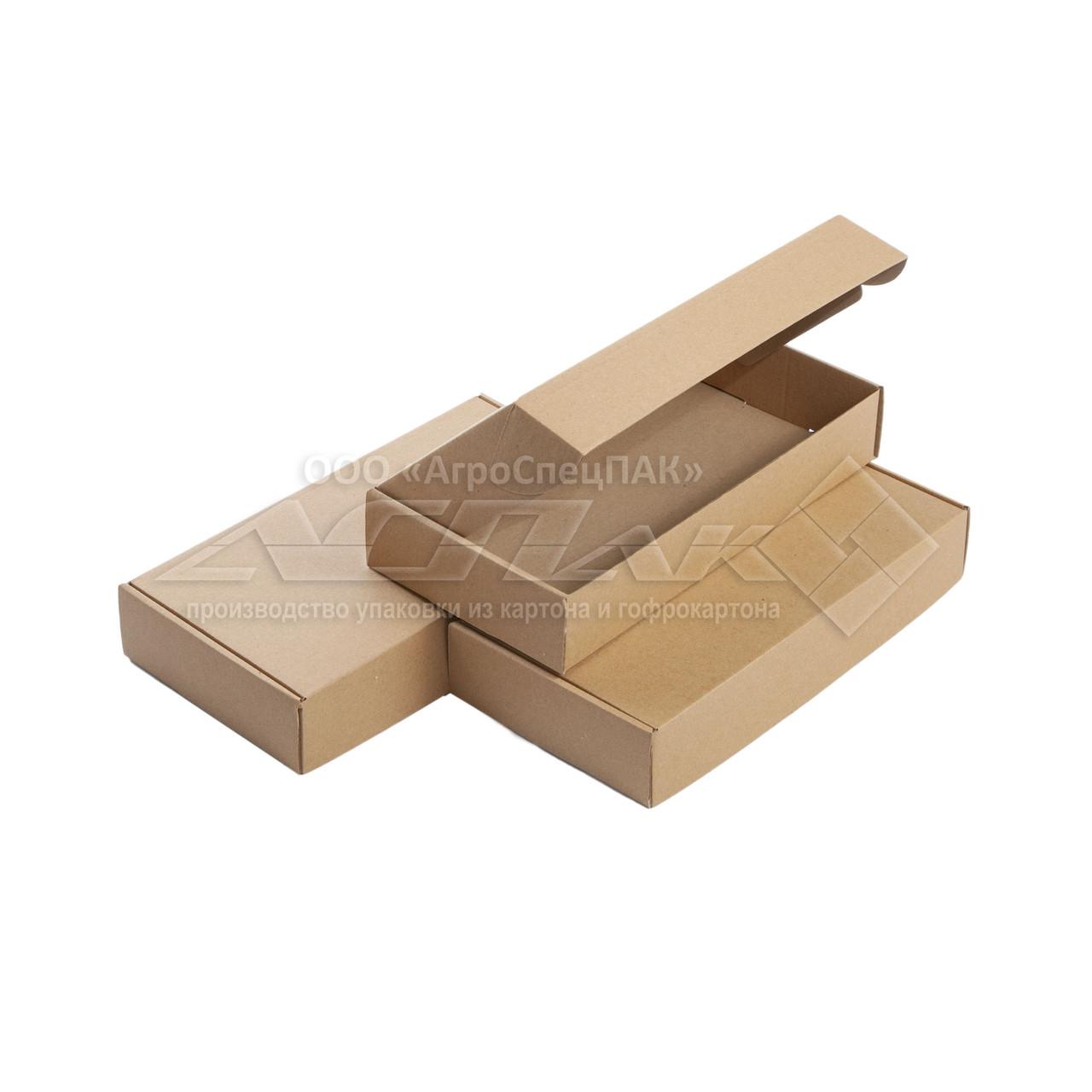 Картонные коробки 303*153*53 бурые - фото 1